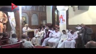 محافظ ومدير أمن القليوبية يشاركان أقباط بنها قداس عيد القيامة المجيد