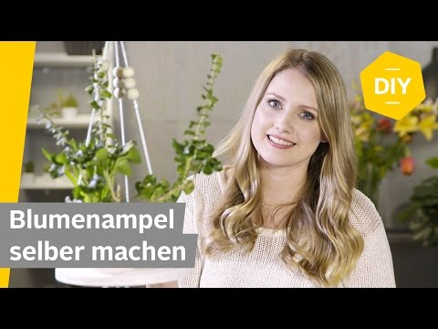 DIY: Blumenampel selber machen | Roombeez – powered by OTTO