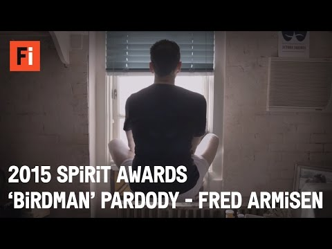 Fred Armisen and Kristen Bell - Birdman Spoof | 30th Film Independent Spirit Awards