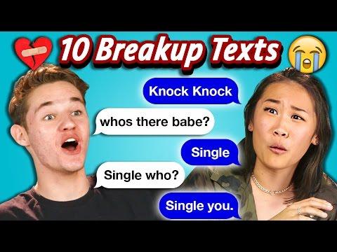 Download Lagu TEENS READ 10 BREAKUP TEXTS (React) MP3 Free