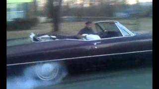 67 drop top cadillac..... 4sale