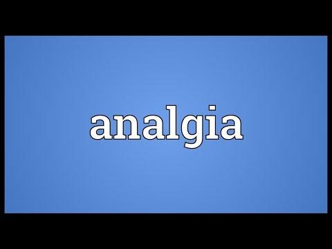 Header of analgia