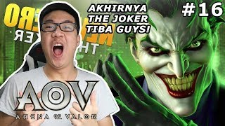AKHIRNYA THE JOKER TELAH TIBA! - Arena of Valor (Indonesia)