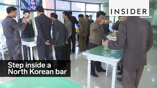 A bar in North Korea