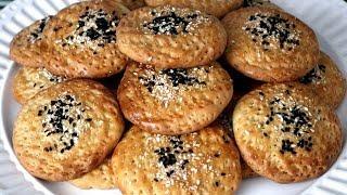 Afghani Salty Cookies کلچه نمکی خوشمزه مخصوص عید1