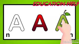 ABCD English alphabet and learning English