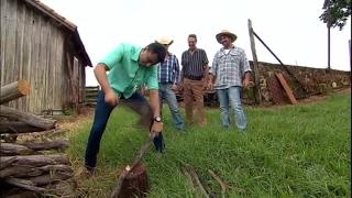 Achamos no Brasil: Samukinha encara 'dia de roça' no interior de SP