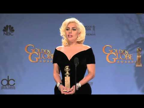 Lady Gaga: Golden Globe Awards Backstage Interview (2016)