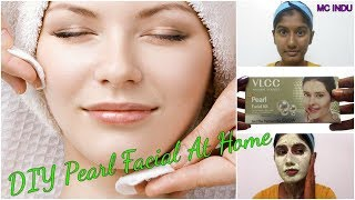 How to : Facial at home (Pearl) – Oily, Acne Prone Skin | VLCC Pearl Facial Kit Review