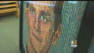Artist Hopes Brady-Belichick Lego Mural Inspires Students