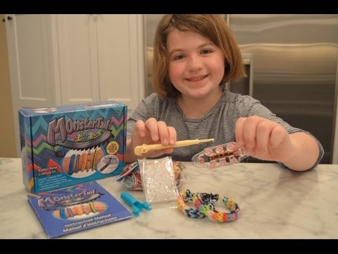 Rainbow Loom Monster Tail Review