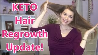 KETO: Hair Loss Update and Regrowth! (with pictures!)