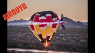 Kirby Chambliss Hot Air Balloon Training - Red Bull Air Race
