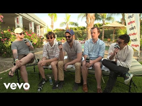 Vampire Weekend - Fuse Interview (Coachella 2013)