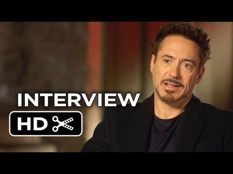 Avengers: Age Of Ultron Interview - Robert Downey Jr. (2015) - Joss Whedon Marvel Movie HD