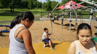 Family fun time at Elmcreek Park