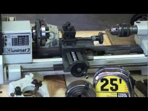 MACHINE SHOP TIPS #54 Buying a Lathe EMCO UNIMAT Pt 3 of 3 tubalcain