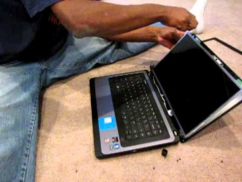 How to replace laptop screen HP 2000