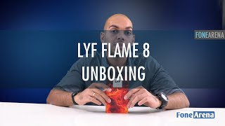 LYF Flame 8 Unboxing
