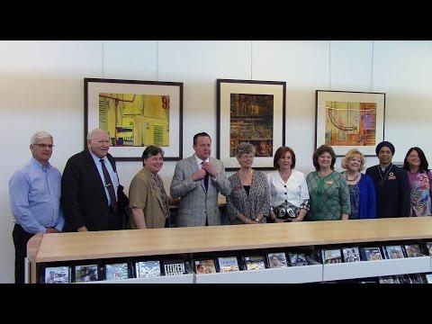 Maureen Caddigan Montclair Library Room Naming Ceremony