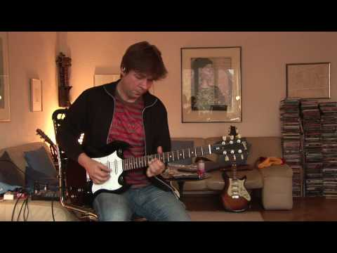 very nice and interesting sounding Gibson SG with 3 single coils part 2