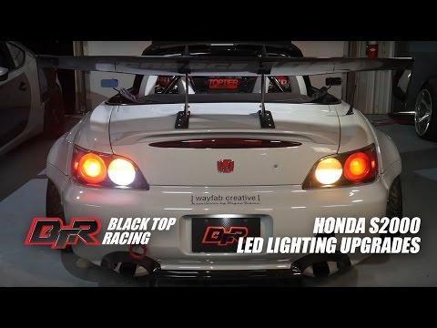 S2000 LED Upgrades - Rear Turn Signals, Tail Lights, Reverse Lights Install Video