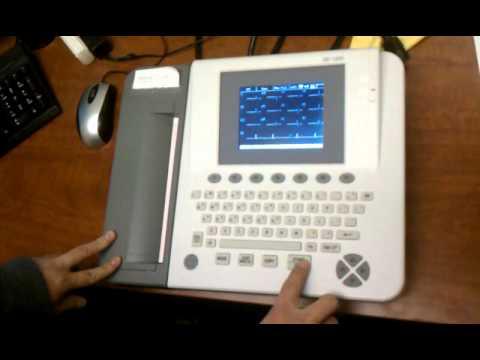 How to load ECG/EKG paper