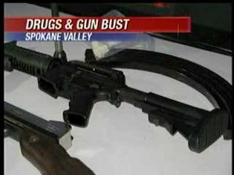 Arrest leads to drugs, guns in Spokane Valley apartment