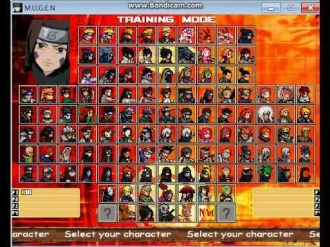 Naruto Shippuden Mugen 2012 Скачать