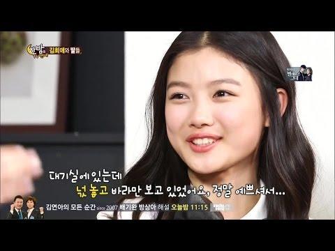 [HIT] 김희애와 딸들 - 솔직 인터뷰 @한밤의 TV연예 140219