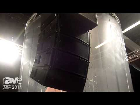ISE 2014: Proel Exhibits New Axiom Line Array Speakers