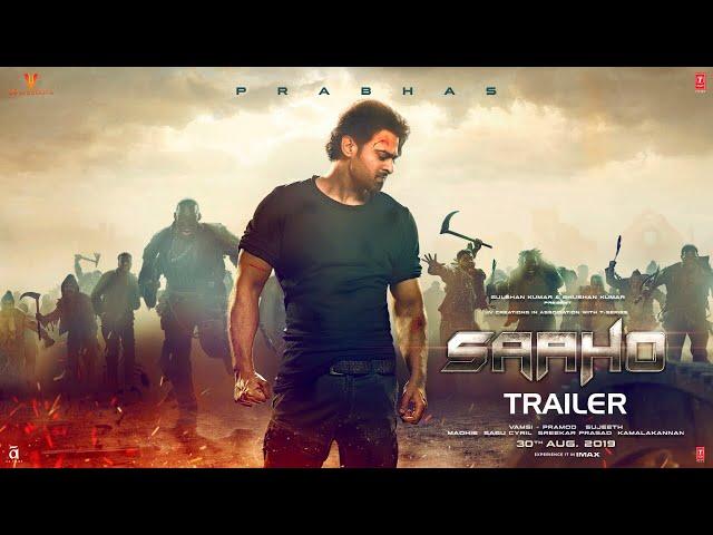 SAAHO Trailer | Prabhas, Shraddha Kapoor, Neil Nitin Mukesh | Bhushan Kumar | Sujeeth | Vamsi Pramod thumbnail