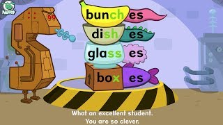 Nessy Spelling Strategy | Plurals -s -es | Learn to Spell