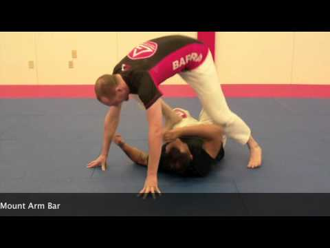 No Gi Grappling Video: Submissions from Mount - Triangle Mount Arm Bar with Tim Gillette Image 1