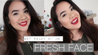 Chatty GET READY w/ ME: Fresh Face | Jerlyn Phan