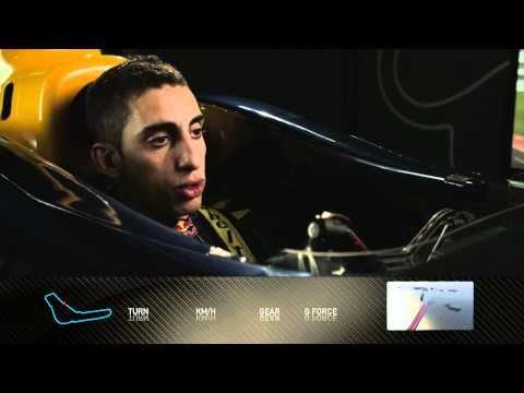Formula 1 2010 - Track Simulation Monza - Sebastien Buemi