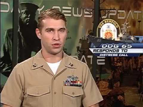Headlines for October 26 2009 - USS Makin Island Commissiond, USS Benfold assists British Frigate