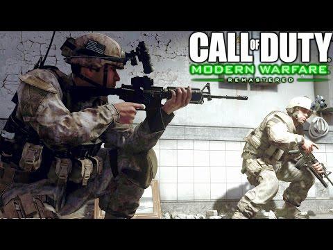 call of duty 4 modern warfare gameplay download