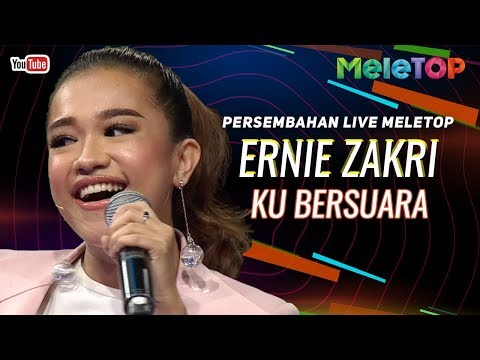 Ernie Zakri - Ku Bersuara   Persembahan Live MeleTOP   Neelofa & Remy Ishak
