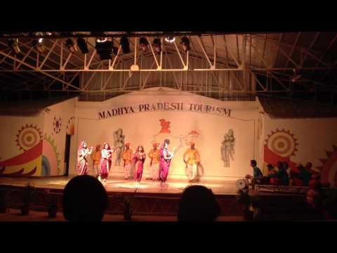 Indian Dance in Khajuraho