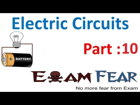 Physics Electric Circuits part 10 (NUmericals: Cell parallel, series) CBSE class 12