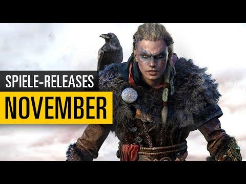 Spiele-Releases im November 2020 | Für PC, PS4, PS5, Xbox One, Xbox Series X und Switch