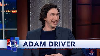 "Adam Driver: ""Marriage Story"" Is A Love Story About Divorce"