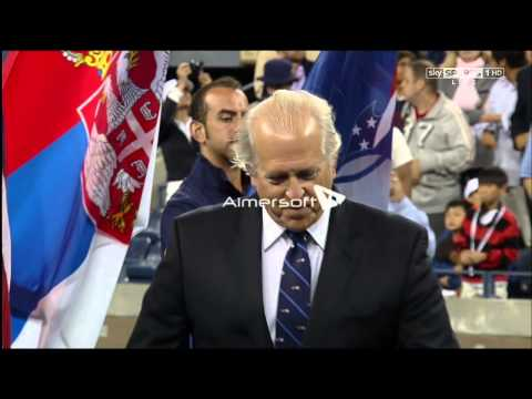 Andy Murray Wins US Open 2012 Trophy Ceremony HD