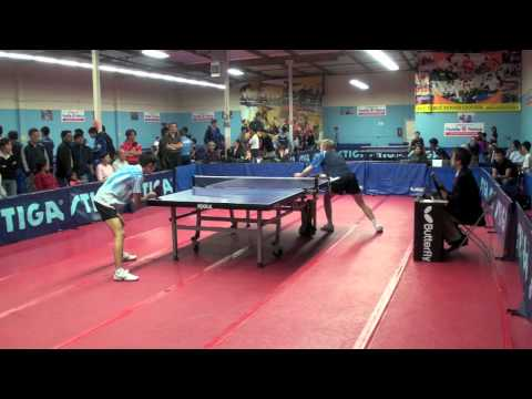 Martin Cedarlof vs Li Hangyu  Open Junior Quarter Finals