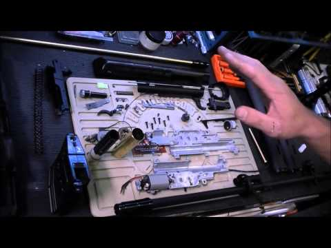 Airsoft GI Uncut - Take a Look Inside - King Arms SVD