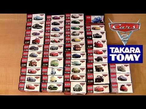 Cars 2 Complete Diecast Collection + Mater's Tall Tales DisneyPixarCars  ディズニー ピクサー カーズ  TAKARA TOMY