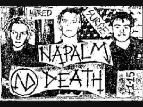 Napalm Death - What Man Can Do