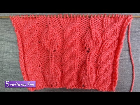 Вязание детского шарфа 85