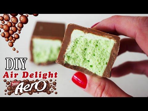 DIY Air Delight Aero Bubbly Chocolate How To Cook That Ann Reardon